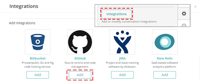 How to create a new GitHub webhook in Fleep