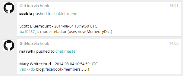 Github Integration Via Webhook Fleep Blog