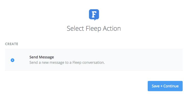 Fleep action