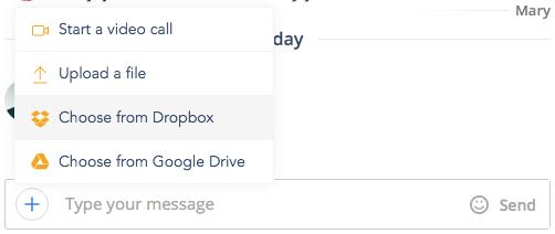 Fleep Dropbox