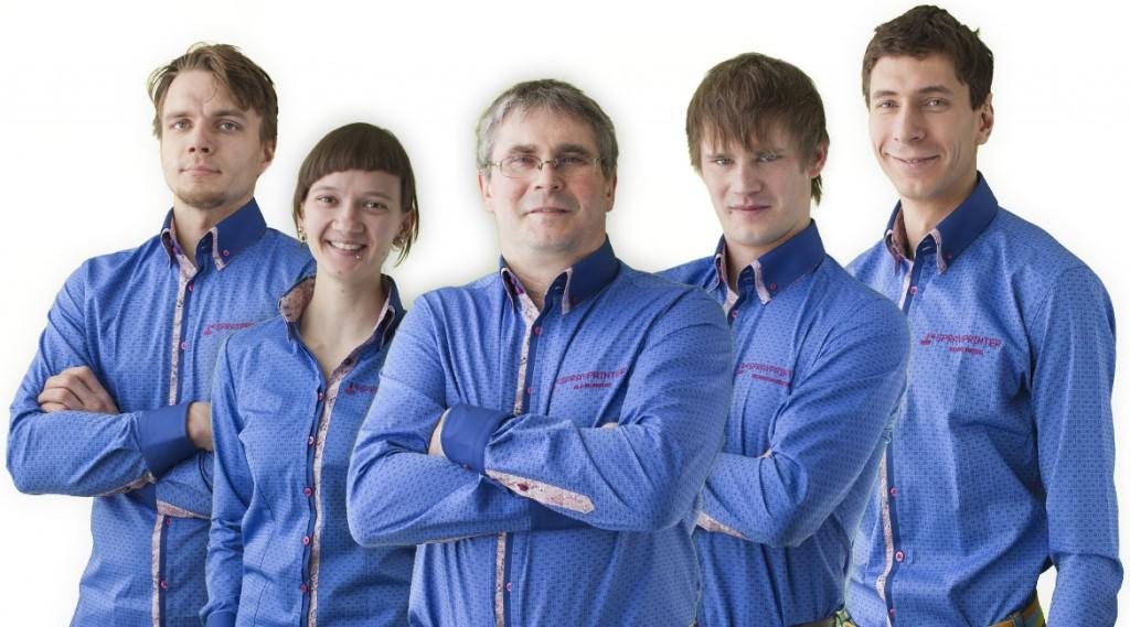 Sprayprinter team