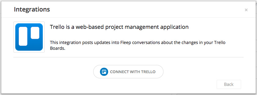 Trello integration