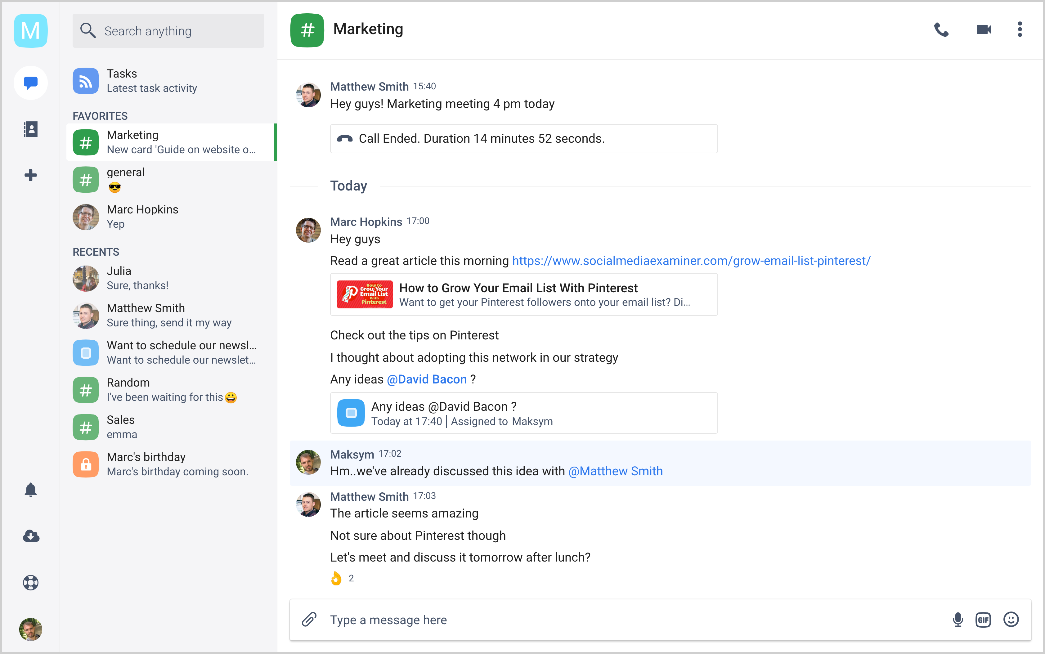 25 Best Slack Alternatives, Free and Paid (August 2019) | Fleep